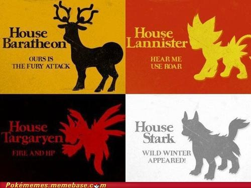 a song of ice and fire crossover Game of Thrones houses - 6547342336