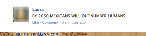 facebook,humans,mexicans,racist