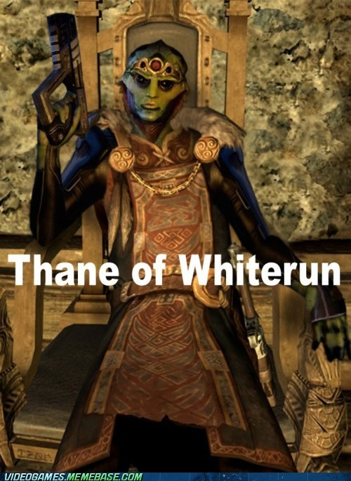 crossover,mass effect,Skyrim,thane,whiterun