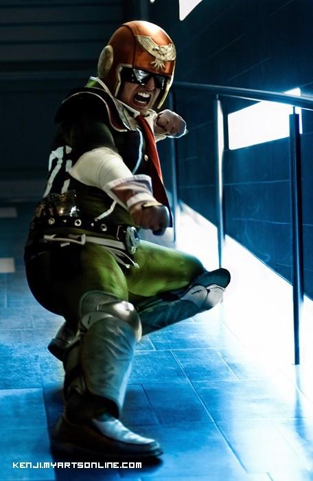 captain falcon cosplay video games - 6547392512