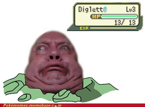 derp diglett diglett wednesday evolving looks like a thumb Memes - 6547522304