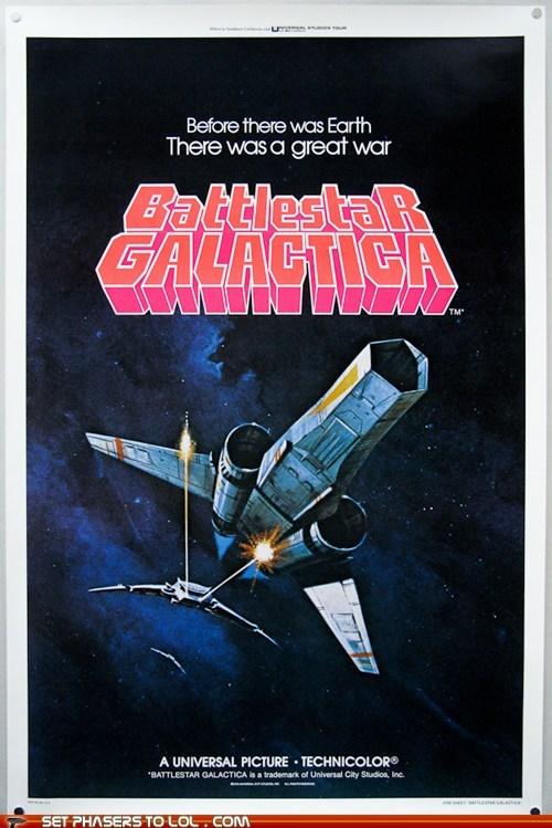 1970s Battlestar Galactica classic earth poster war - 6547548928