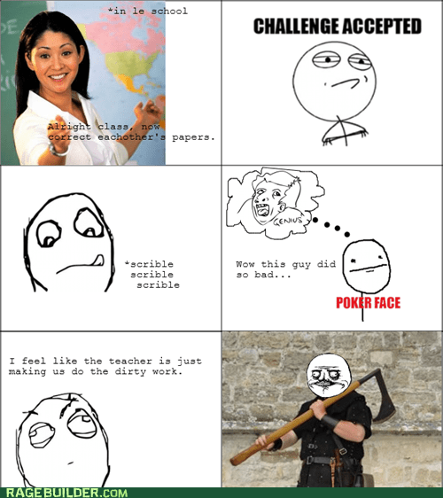 Challenge Accepted me gusta poker face - 6547621632