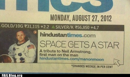 accidental sexy,neil armstrong,obituary