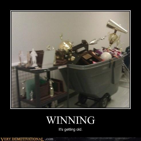 old hat trophy winning - 6547697920