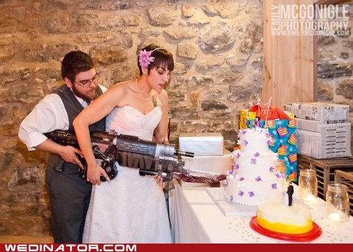 cake Gears of War geeky gun video game - 6547765760
