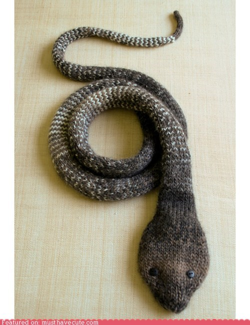 Knitted snake wool yarn - 6547795200
