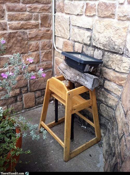 floodlight high chair log stump - 6547872512