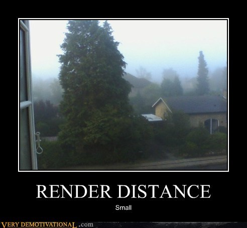 RENDER DISTANCE Small