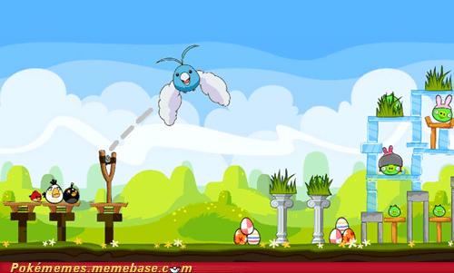 angry birds crossover Pokémon swablu - 6548706048