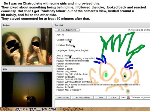 chatroulette counter troll scary - 6548787200