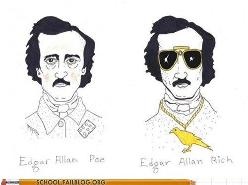 Edgar Allan Poe english literature rich - 6549013760