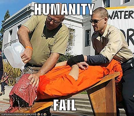 Protest waterboarding - 654924032
