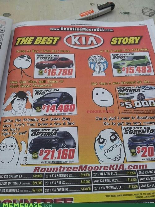 Ad kia marketing rage faces - 6549244416