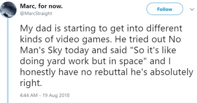 twitter parenting dad video games - 6549253