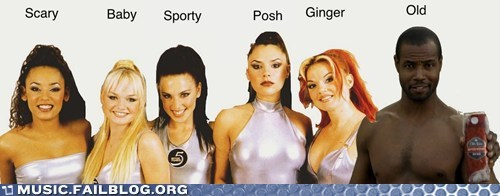 old spice,spice girls