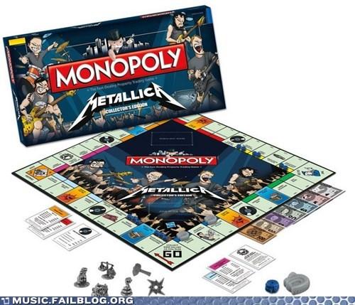 metallica monopoly - 6549344512
