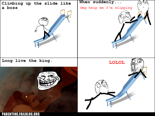 lion king,Rage Comics,slide