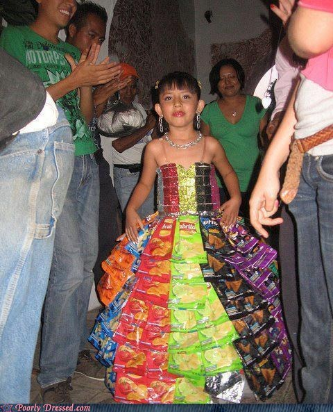 doritos dress homemade - 6549380096
