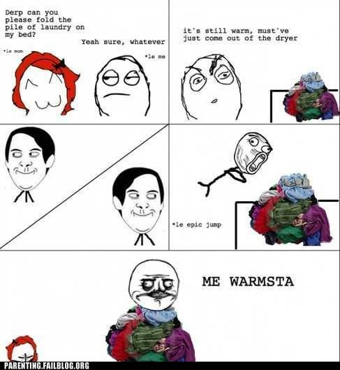 laundry,Rage Comics