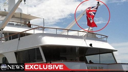 cayman islands flag rnc romney party yacht - 6549701376
