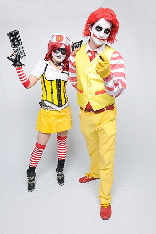 comics,comics books,cosplay,DC,Harley Quinn,McDonald's,the joker