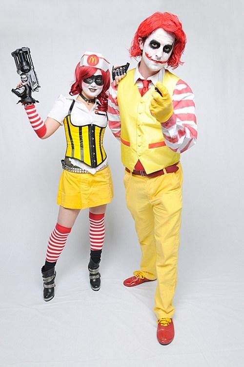 comics comics books cosplay DC Harley Quinn McDonald's the joker - 6549739264