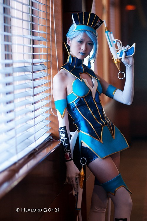 anime blue rose cosplay Tiger and Bunny - 6549785600