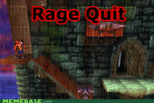 classic crash bandicoot nostalgia playstation rage quit retro - 6549807616