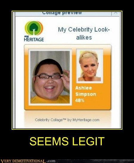 celeb,look alike,seems legit