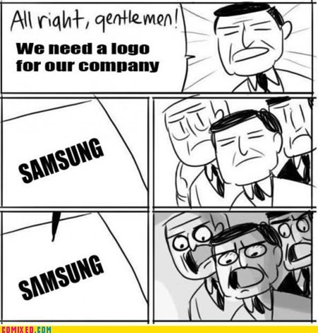 all right gentlemen,logo,Samsung