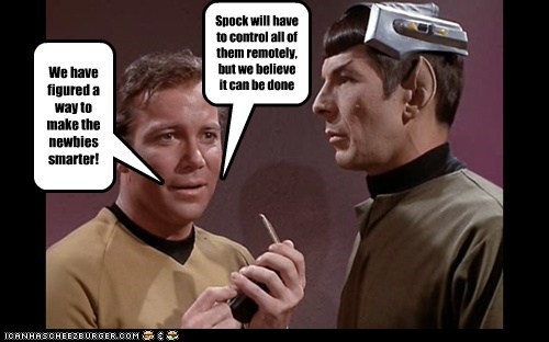 Training using Spock's Brain