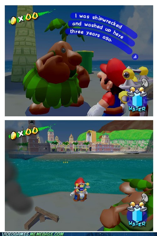 delfino plaza,mario,Sad,super mario sunshine,you-kidding-me