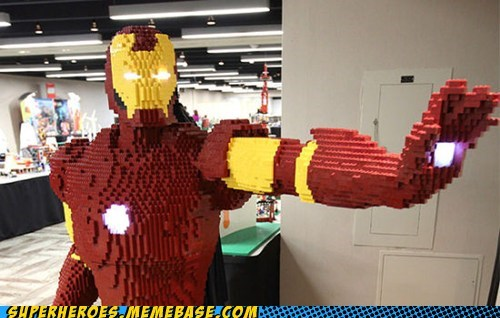 awesome iron man lego - 6550045184