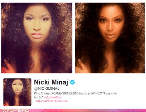 beyoncé celeb funny Music nicki minaj pop twitter - 6550048000