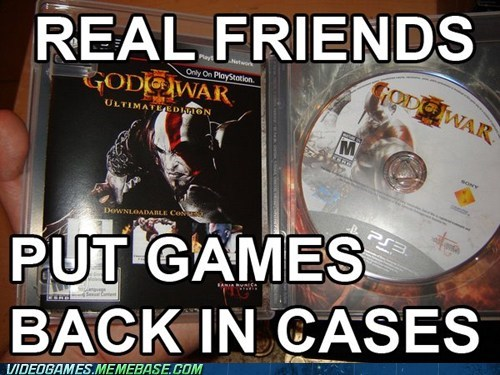 back in its case - video game memes