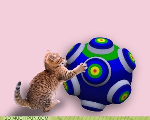 cat homophone Katamari Damacy literalism prefix video game