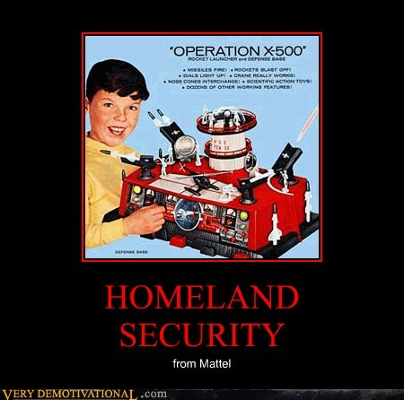 homeland security mattel toy wtf - 6550347008
