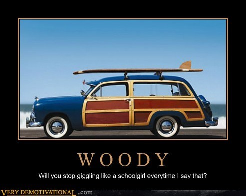 car giggle no no tubes woody