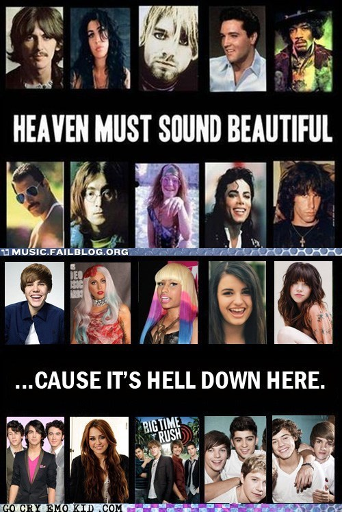 amy winehouse big time rush carly rae jepsen freddie mercury heaven hell jim morrison jimi hendrix john lennon jonas brothers justin bieber kurt cobain lady gaga michael jackson miley cyrus Music nicki minaj one direction Rebecca Black true story - 6550385152