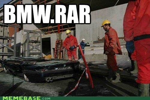 bmw,rar,semi,zip
