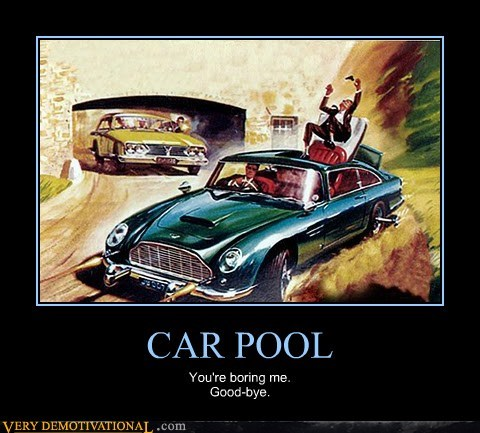 car pool,good bye,wtf