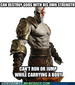 god of war,kratos,playstation,video game logic