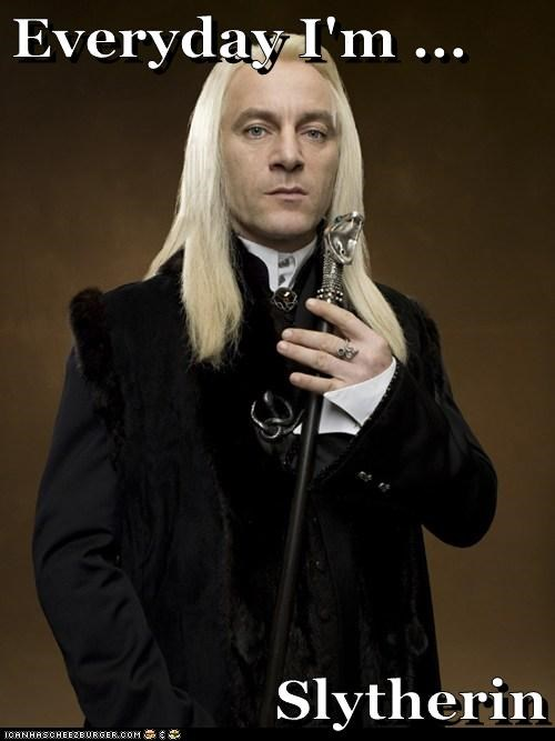 cane class everyday-im-hustlin Jason Isaacs Lucius Malfoy slytherin