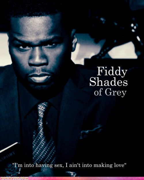 50 cent,celeb,fifty shades of grey,funny,Music,rap,shoop