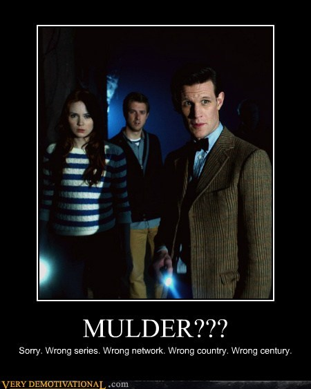 doctor who Mulder sci fi - 6551921920