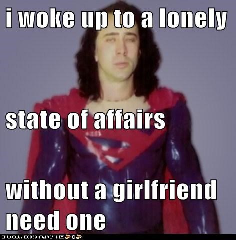 lonely without girlfriend