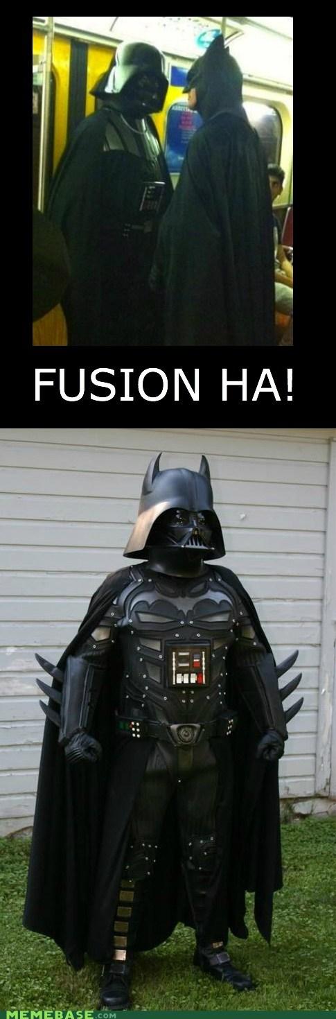batman,darth vader,fusion