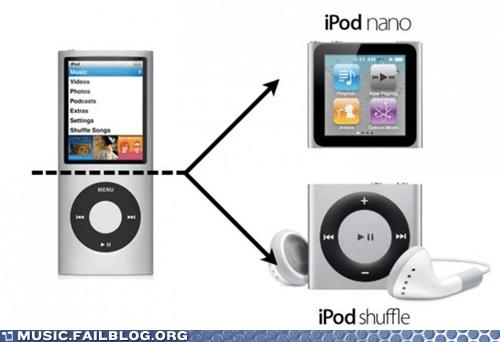 apple ipod nano ipod shuffle - 6552209152