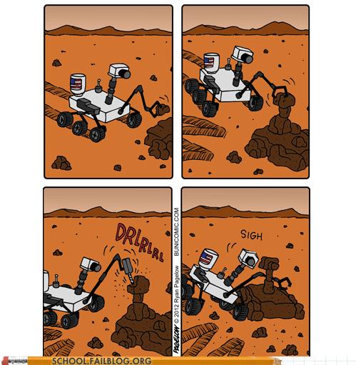curiosity Mars mars rover pixar space wall.e - 6552224768